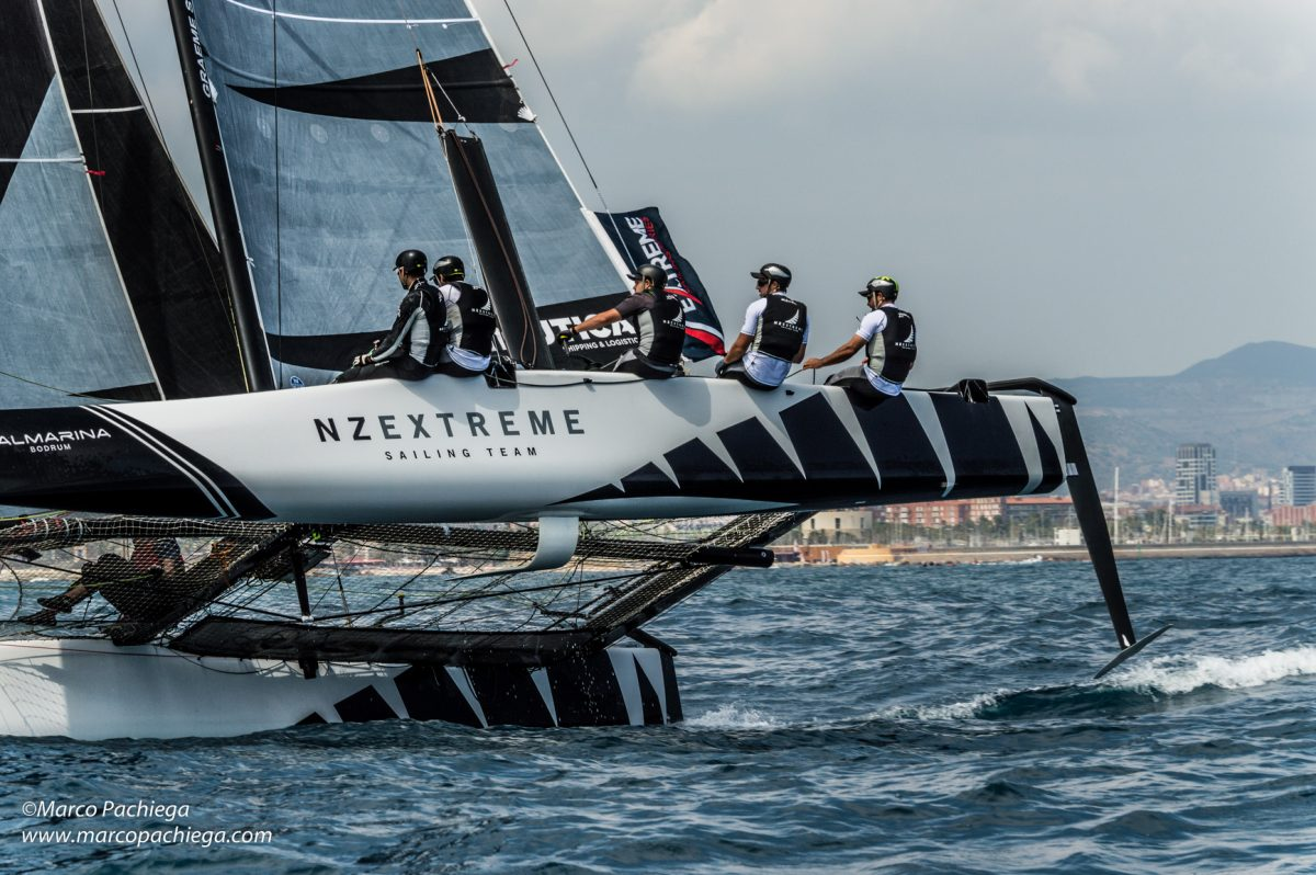 Extreme Sailing Seriers 2017 Barcelona