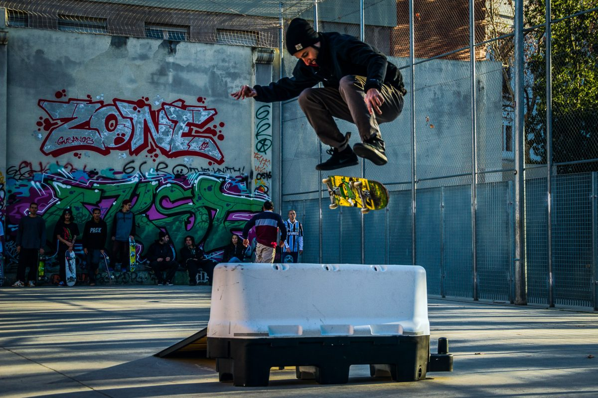 free skate jam, barcelona