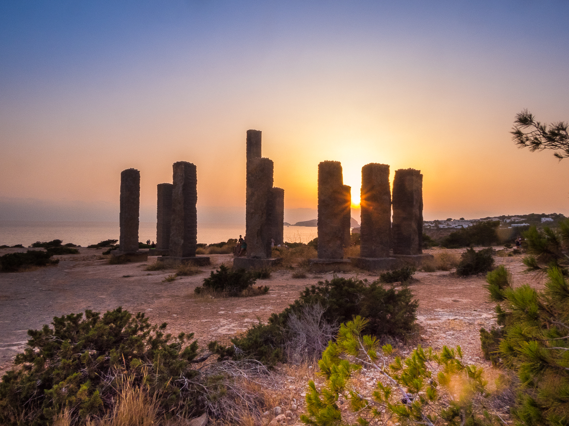 mysterious monument of Ibiza