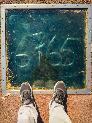 Mysterious numbers in Barcelona.