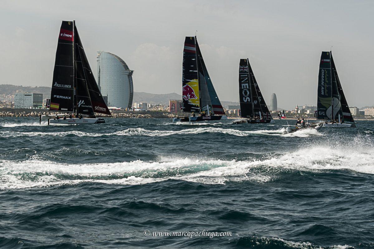 Extreme sailing Series 2018