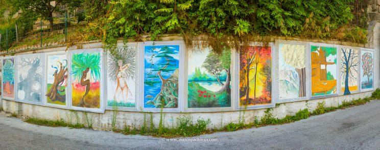 Los murales de Cacciano