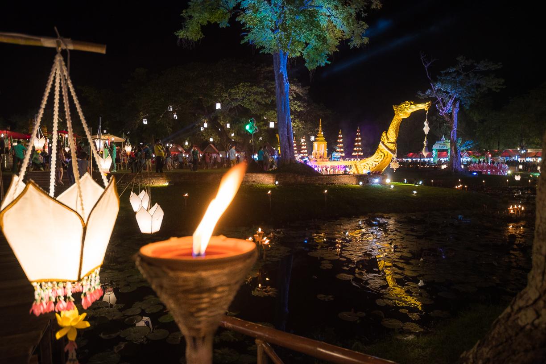 Loi Krathong Festival de Sukhothai