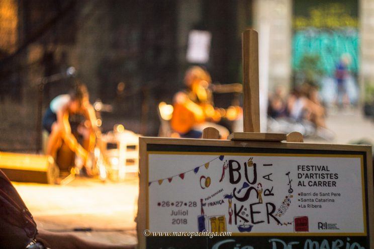 Barcellona Busker Rai 2018