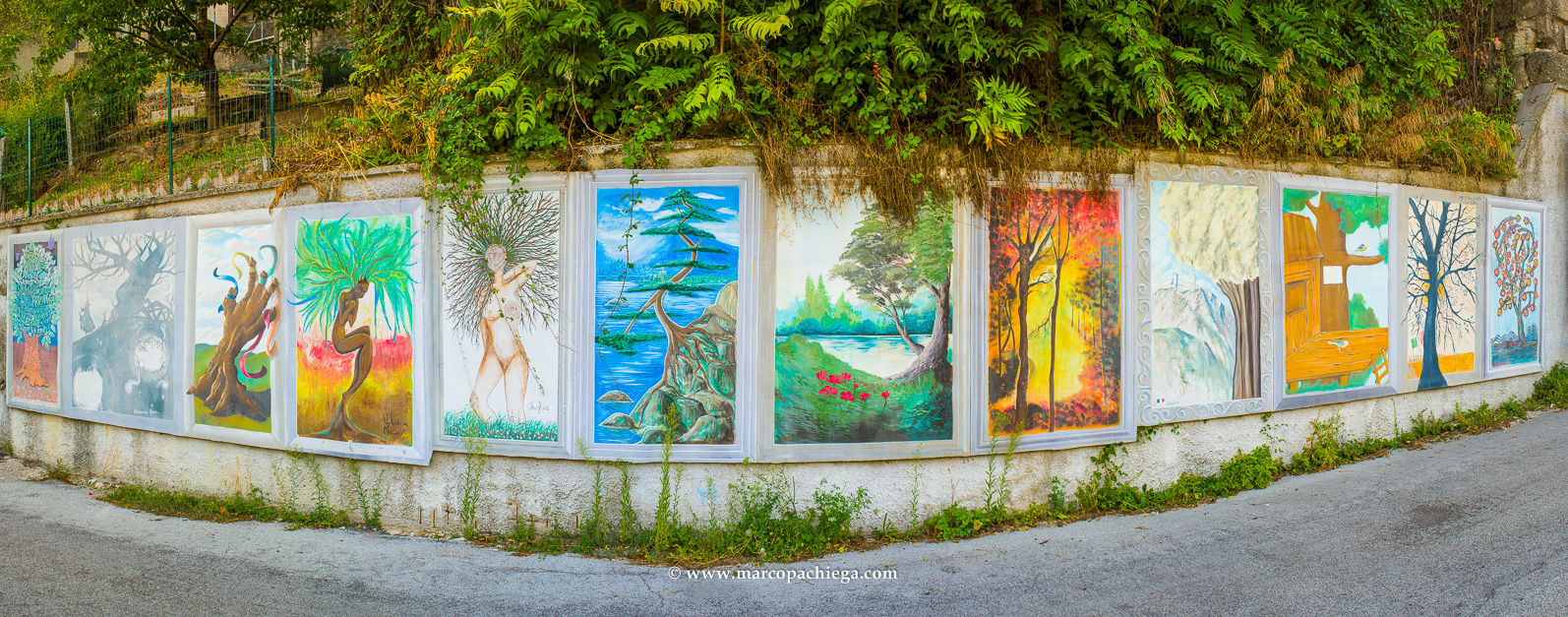 The Cacciano murals
