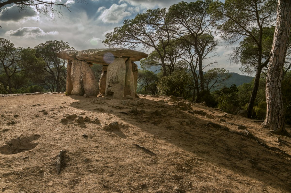 The Dolmen de la Pedra Gentil of Vallgorguina