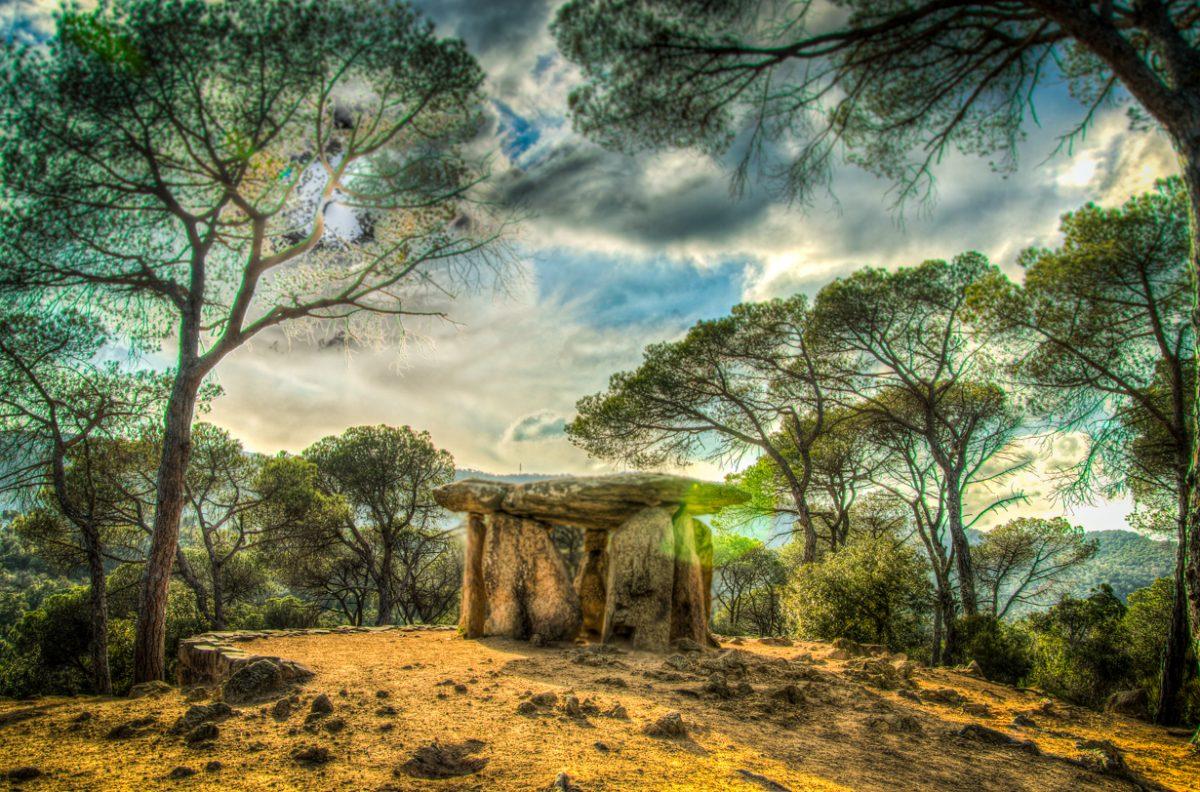 Il Dolmen de la Pedra Gentil di Vallgorguina