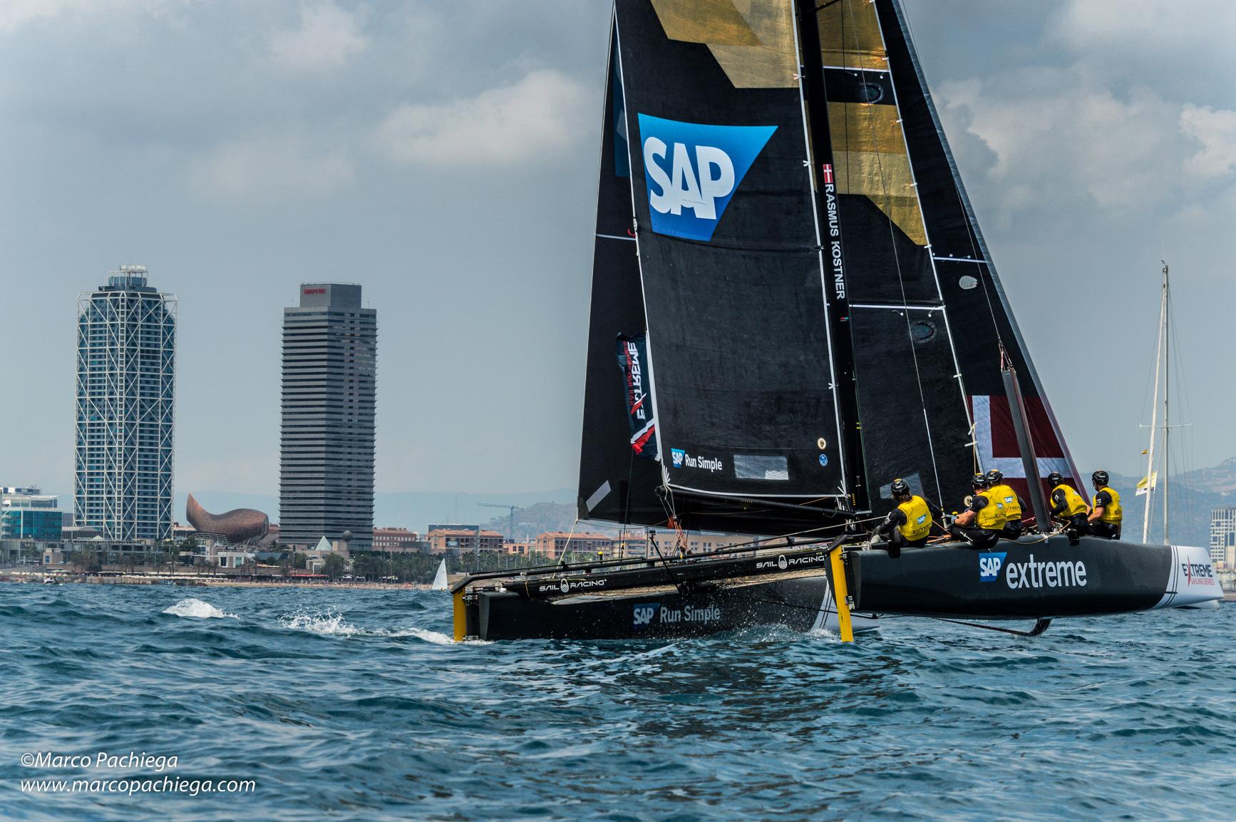 Extreme Sailing Seriers 2017 Barcellona, eventi, sport, notizie